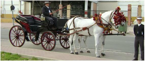 Historia de los carruajes en Sevilla
