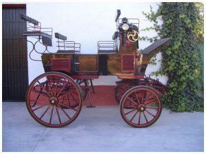 alquiler coche de caballos