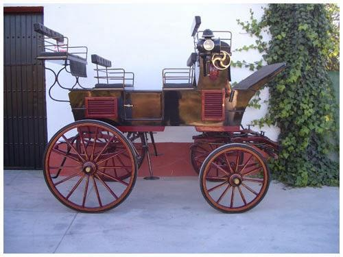 Los coches de caballos para tu boda.