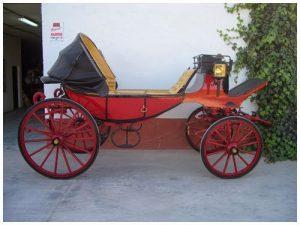 alquiler coches de caballos
