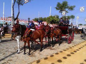 coche de caballo Feria