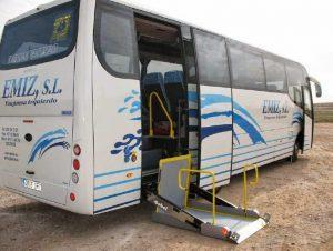 Seguridad en los minibuses