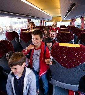 Ventajas del uso de un autobús de ruta para colegios