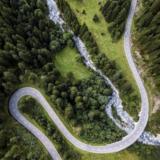 Levantamiento topográfico de carreteras